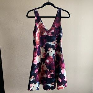 Abercrombie & Fitch Watercolor Skater Dress